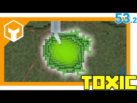 Toxic Slime Pool ⛏ Hybridcraft 53.2 ⛏ A Minecraft 1.12 Lets Play