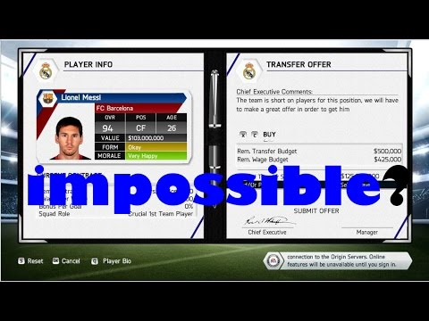 How to buy MESSI,RONALDO or any player for free!! -Fifa 14/Fifa 15/Fifa 16
