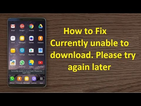 Currently unable to download. Please try again later!! - Howtosolveit
