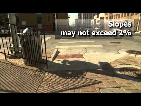 Accessible Pedestrian Route Design