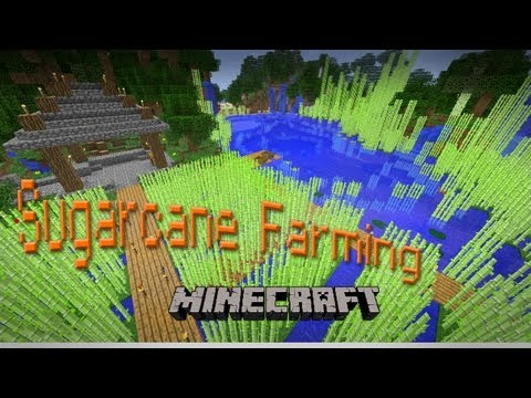 Super Awesome Minecraft Episode #7 (How to Grow Sugar Cane)