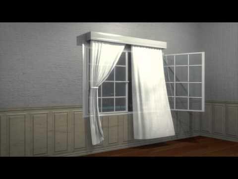 Render cortina en blender