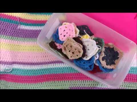 Crochet Tip for Using Scrap Yarn