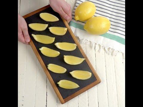 Lemon Drop Wedge Shots