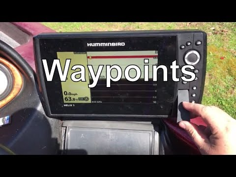 How to Transfer Waypoints to Humminbird Helix