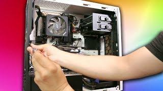 You won't BELIEVE how we transformed this Ryzen PC... - PIMP MY RIG 7 #pimpmyrig #PMR7