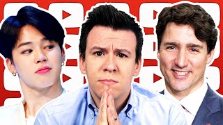"""Why People Are Freaking Out About BTS """"Exception"""", Facebook, & Explaining Justin Trudeau"""