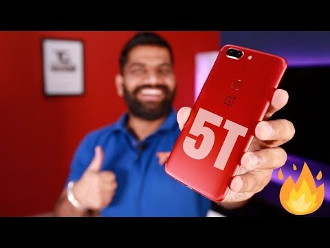 Oneplus 5T Lava Red Unboxing and Giveaway 🔥🔥🔥 Valentine's Gift!!