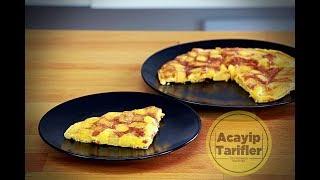 İkİ Patates İkİ Yumurtayla Harİka Bİr Kahvalti   Acayİp Tarİfler