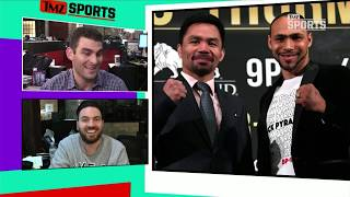 Download Keith Thurman Betting a Lot Of Money On Himself to KO Pacquiao | TMZ Sports Video