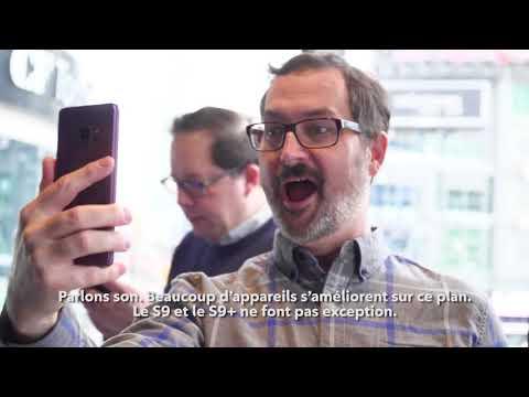 Premier coup d'œil sur les appareils Samsung Galaxy S9 et S9+