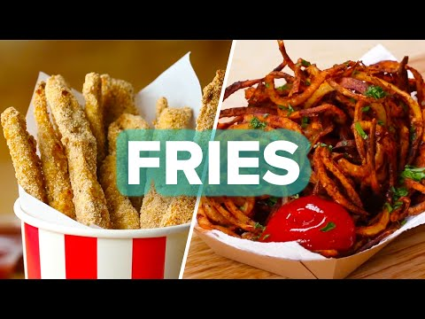 7 Recipes For Anyone Who Loves Fries