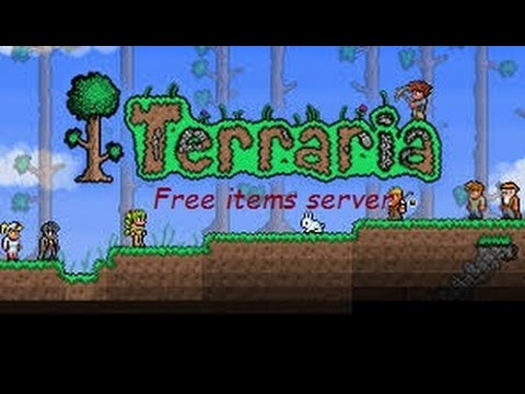 Terraria best free items server--- + How to use it
