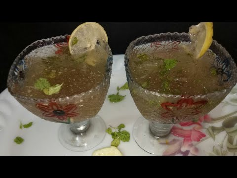 KFC style🍸 lemon mint crusher