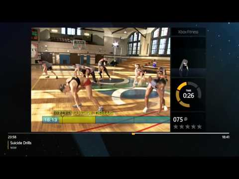 Xbox fitness- Insanity Workout- Gamers stay fit