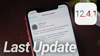 iOS 12.4.1 Update Released! What's New?