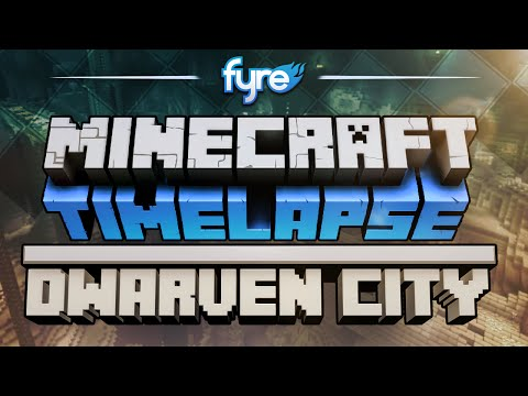 Minecraft Timelapse - Dwarven City