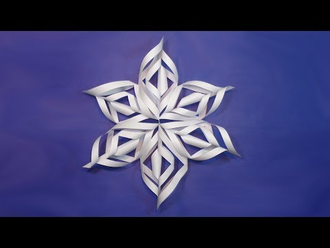 Paper Snowflakes Making for Christmas Decorations   DIY Easy Christmas Craft Ideas