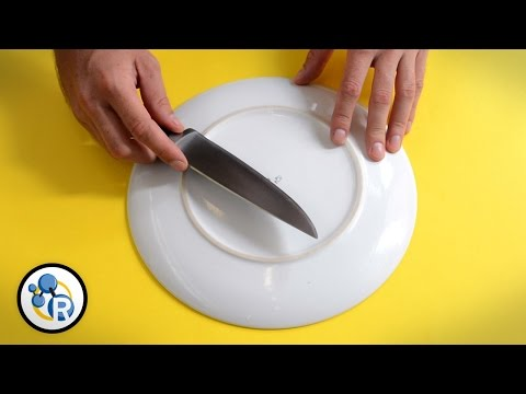 How to Sharpen Your Knife Without a Sharpener - Chemistry Life Hacks