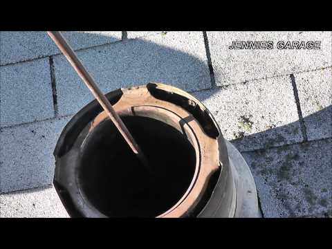 How To Sweep A Chimney - Say NO To Chimney Fire & YES To A Clean Pipe !!