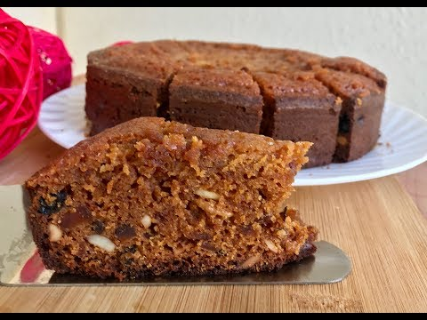Plum Cake Recipe in Cooker | Non Alcoholic Plum Cake Without Oven| Kerala Plum Cake