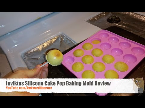 Inviktus Silicone Cake Pop Baking Mold Review