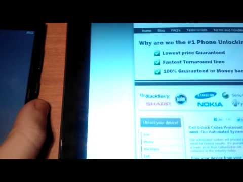 How to unlock a Lumia 920 from UK Orange/T-mobile/EE - mobileunlocker.net part 1