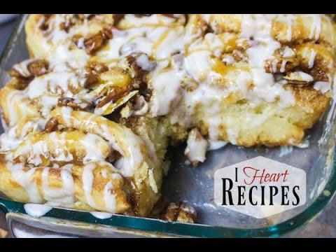Homemade Caramel Pecan Cinnamon Rolls Recipe  - I Heart Recipes