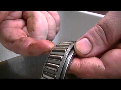Grampa's Garage #130 Cleaning wheel bearings