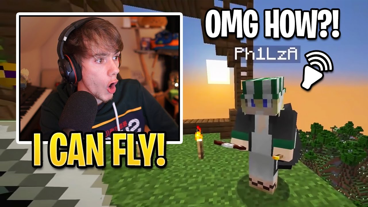 Fundy SHOCKS EVERYONE After He DISCOVERS How To FLY! (Origin SMP)