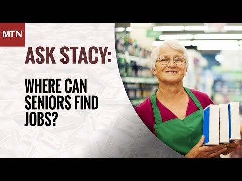 Where Can Seniors Find Jobs?