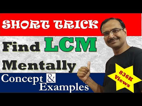 Trick 50 - Find LCM in Just 3 Seconds