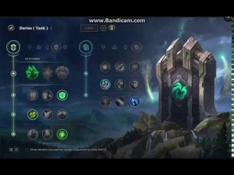 Best Runes For Darius S8