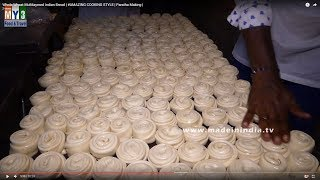 Whole Wheat Multilayered Indian Bread | #AMAZING COOKING STYLE | Paratha Making |