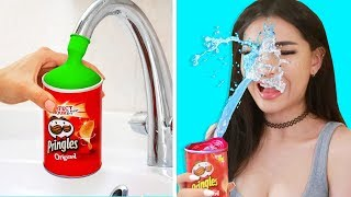 Trying Life Hacks & PRANKS to see if they work