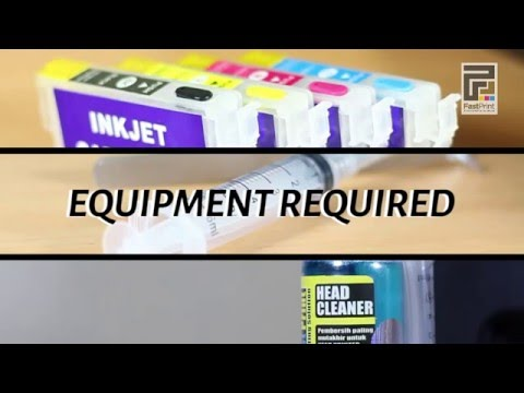 Tutorial How To Clean Printer Head Canon, Epson, Brother and HP Quickly and Easily