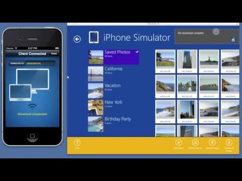 Transfer photos from iPhone or iPad to Windows 8