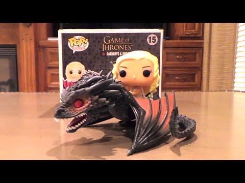 Daenerys and Drogon (Game of Thrones) Funko POP! Rides #15