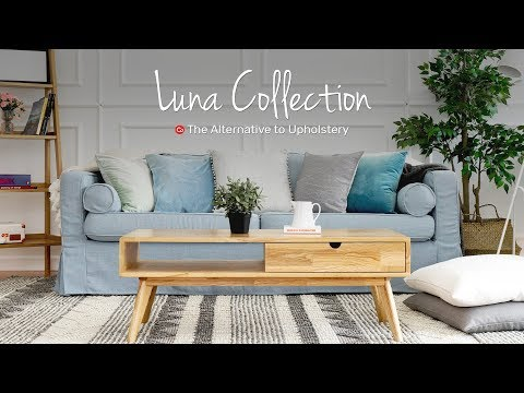 Luna: Linen Blend Collection for Loose Fit Slipcovers | Comfort Works Sofa Covers