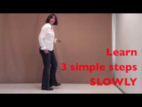 How to dance 3 simple Irish sean nos steps at home ONLINE