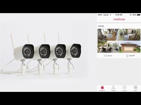 Zmodo Wireless Camera Kit Setup Tutorial