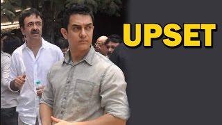 PK Movie - Aamir Khan and Rajkumar Hirani upset! | Bollywood News
