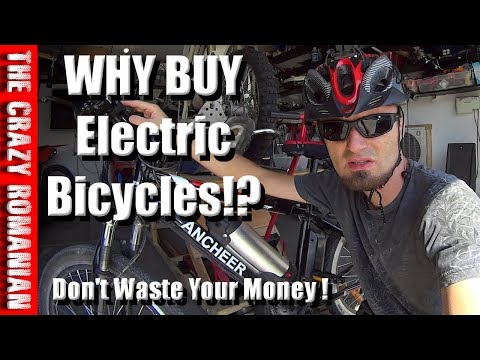 Don't waste your money on a Expensive Electric Bicycle ANCHEER