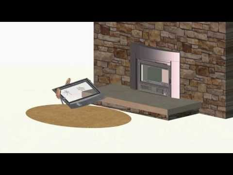 EPI3C Fireplace Glass and Gasket Replacement