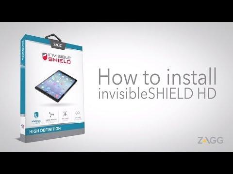 invisibleSHIELD High Definition - Tablet Installation Walkthrough