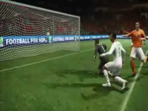 FIFA 2010 World Cup Game Play XBOX