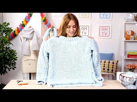 Knitting 201: Chunky Wonderwool Sweater