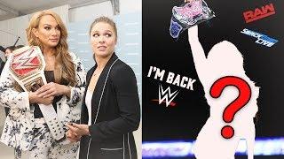 HUGE FORMER WWE DIVAS CHAMPION ANNOUNCES HER RETURN TO WWE (WWE RETURNS)