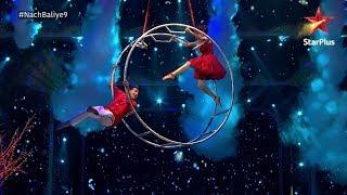 Nach Baliye 9 | PriVika's aerial act