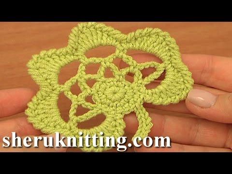 Crochet Leaf Pattern Tutorial 30 Easy Crochet Irish Leaf Motif